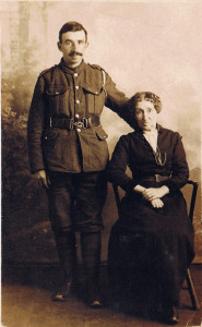 Tom Charlish and his mother, Clara