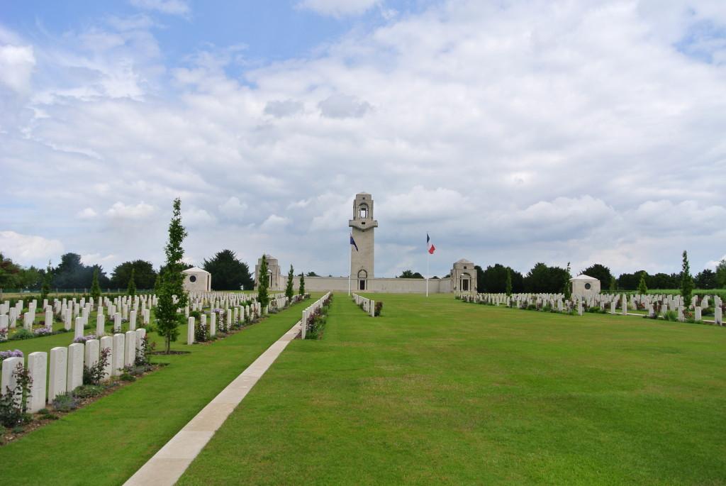 Australian National Monument, Villers-Bretonneux, France