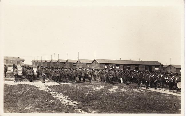 Australian Base Camp at Le Havre