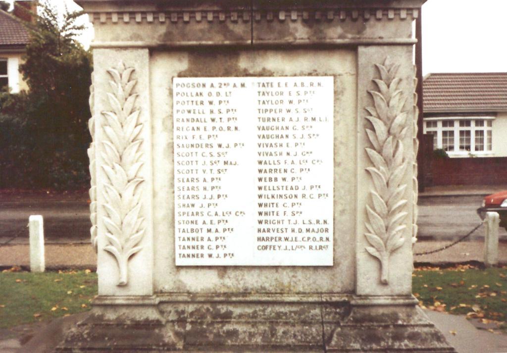 Sunbury -on- Thames Memorial