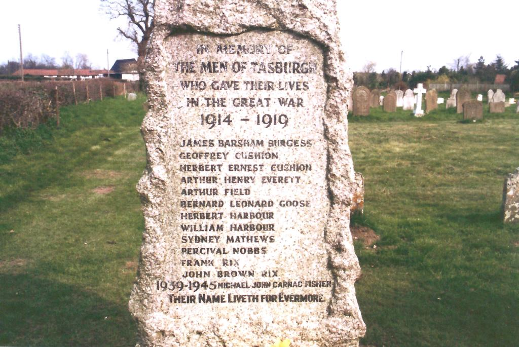Tasburgh War Memorial 2