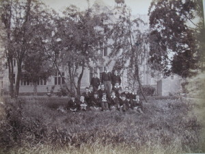 Choristers at Magdalen College School in mid 1890's. Photograph courtesy of School Archives.