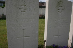 George Harold Knight who was killed alongside Amyot Steward.