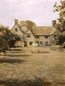 Saxlingham Old Hall 1913 Photograph taken from Elise Steward's album