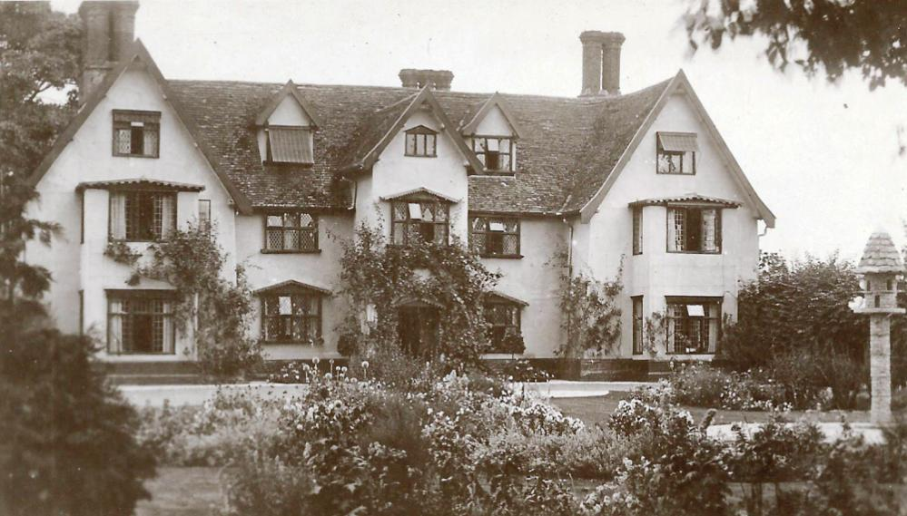 Front of Old Hall, Saxlingham