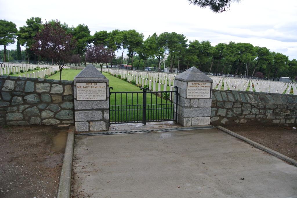 Mikra British Cemetery, Thessaloniki