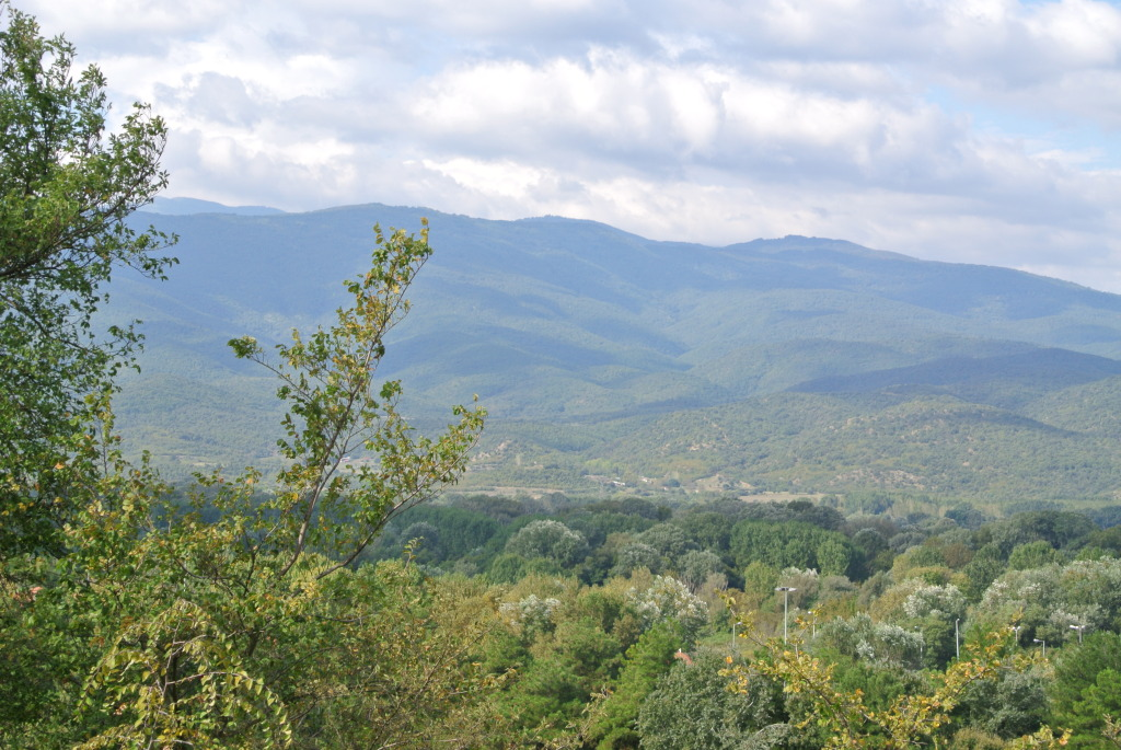 General view of Northern Greece where troops were fighting.